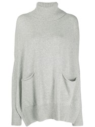 Ma'ry'ya Oversized Sweater Grey