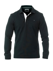Eden Park Rugby Polo Shirt Black