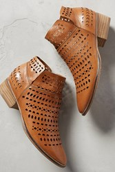 Anthropologie Bt Lasercut Ankl Bt Lthr Honey