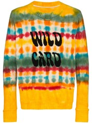 The Elder Statesman Wild Card Tie Dyed Cashmere Jumper 60