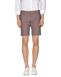 Messagerie Trousers Bermuda Shorts Men Red