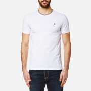 Polo Ralph Lauren Men's Tipped Crew Neck T Shirt White