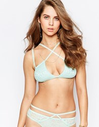 Somedays Lovin Aquaria Lace Bra Mint Green