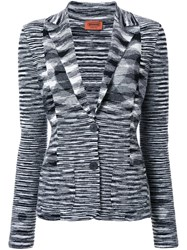 Missoni Knitted Blazer Black