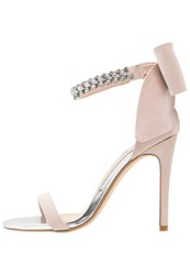 Miss Selfridge Cruise High Heeled Sandals Multicolor Bright Nude