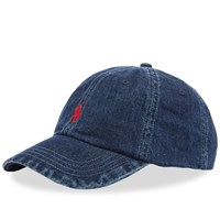 Polo Ralph Lauren Denim Baseball Cap Blue