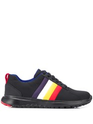 Camper Striped Sneakers Black
