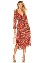 House Of Harlow X Revolve Noa Dress Red