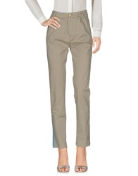 Femme By Michele Rossi Casual Pants Light Grey