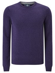 John Lewis Made In Italy Merino Cashmere Jumper Purple