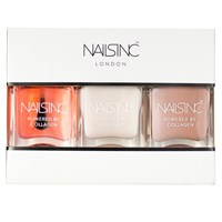 Nails Inc Powered By Collagen Starter Trio Kit
