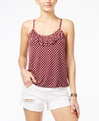 American Rag Sleeveless Polka Dot Tank Top Only At Macy's Red Dot