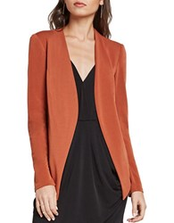 Bcbgeneration Long Sleeve Open Front Blazer Rustic