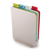 Joseph Joseph Index Compact Chopping Board Set Silver