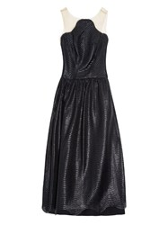 Maria Lucia Hohan Wave Lace Tulle A Line Dress