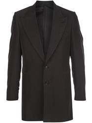 Martine Rose Single Breasted Fitted Blazer 60