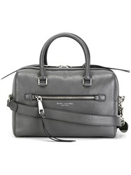 Marc Jacobs 'Recruit' Bauletto Tote Grey