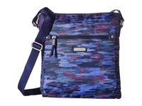 Baggallini New Classic Go Bagg With Rfid Phone Wristlet Moonlight Camo Bags Blue