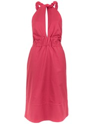Lilly Sarti Salopete Dress Pink And Purple