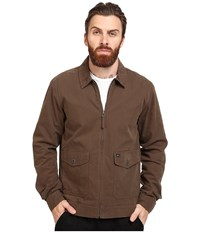 Rvca Gilmore Jacket Dark Chocolate Men's Coat Brown