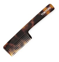 Tom Ford Tortoiseshell Beard Comb Black