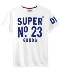 Superdry Men's Graphic Print T Shirt Optic