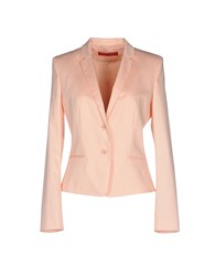 Hugo Suits And Jackets Blazers Women Salmon Pink