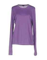 Patrizia Pepe Sweaters Purple