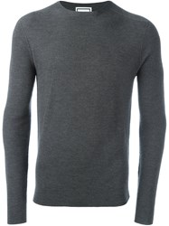 Wooyoungmi Crew Neck Jumper Grey