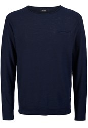 Only And Sons Jumper Night Sky Dark Gray