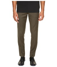 Vince Slim Trousers Military Green