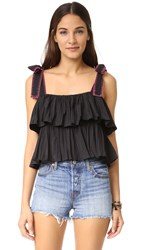 Saloni Jools Top Black