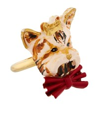 Dolce And Gabbana Dog Ring Multi