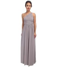 Donna Morgan One Shoulder Strapless Gown Rachel Sterling Women's Dress Navy