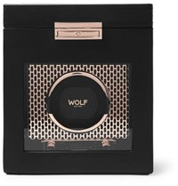 Wolf Axis Single Watch Winder Copper