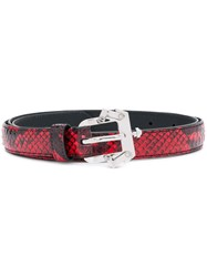 Paula Cademartori Pc Belt Red