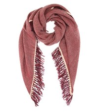 Isabel Marant Swann Wool And Cashmere Scarf Red