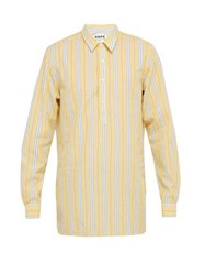 Hope Striped Cotton Shirt Yellow Multi