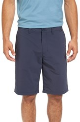 Travis Mathew Men's 'Hefner' Stretch Golf Shorts Blue Nights