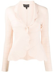 Emporio Armani Panelled Scallop Jacket 60
