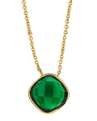 Marcia Moran Onyx Pendant Necklace Green