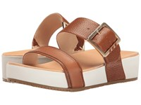 Dr. Scholl's Frill Original Collection Saddle Leather Women's Sandals Brown