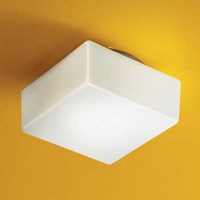 Illuminating Experiences Matrix Fluorescent Wall Or Ceiling Light M10295 Small White