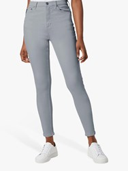French Connection Rebound High Waisted Skinny Jeans Salt Water