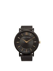 Larsson And Jennings Lugano Stainless Steel Watch Black