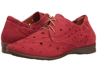 Think Wunda 80057 Rosso Kombi Women's Lace Up Casual Shoes Multi