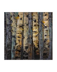 Marmont Hill Gold Infusion Ii Painting Print On Wrapped Canvas Brown
