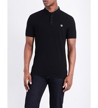 The Kooples Classic Fit Cotton Polo Shirt Blaa7