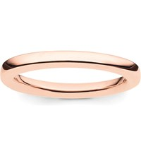 Thomas Sabo Glam And Soul 18Ct Rose Gold Plated Sterling Silver Midi Band Ring
