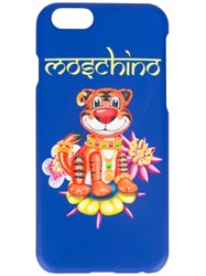 Moschino Tiger Iphone 6 Case Blue